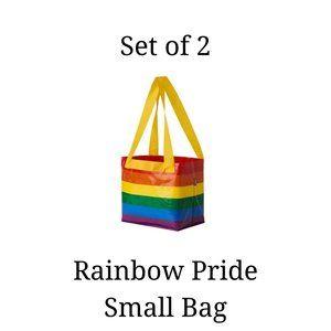 2x - IKEA Pride LGBTQ Rainbow Small Bags